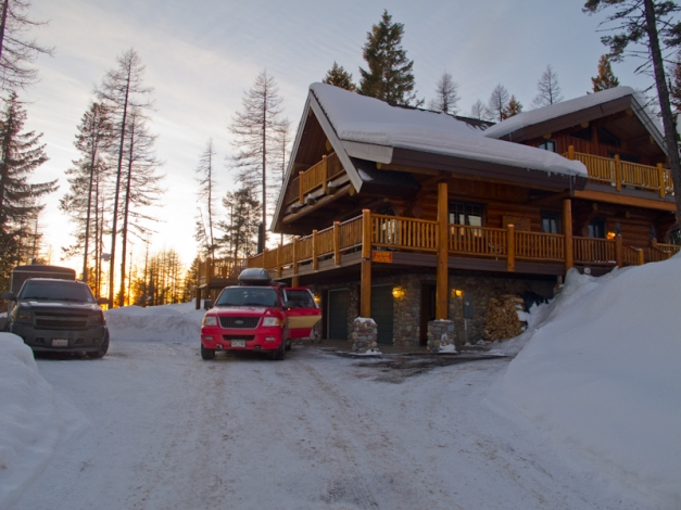 Our Cabin for the trip